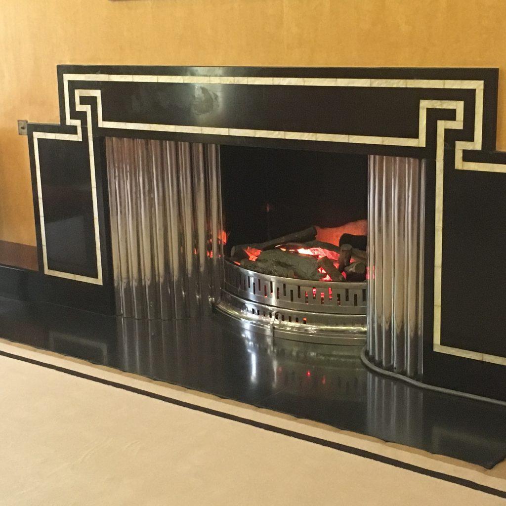 Art Deco Fireplace - Helen Beaumont
